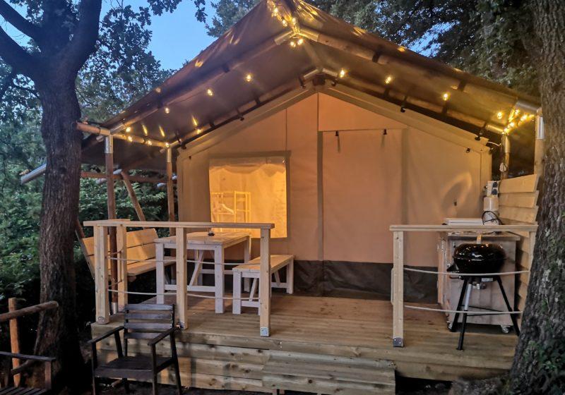 Lodge tent Ginestra esterno