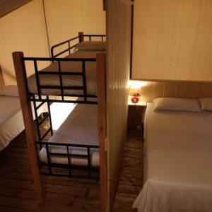 (Margherita Lodge Tent 25 mq camere)